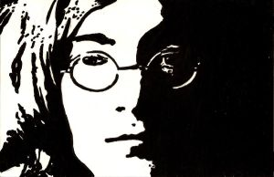 The Beatles- John Lennon by WillRepent