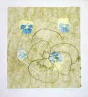 Floral Monotype 5 of 6 by designsbykari