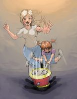 Mother And Daughter QP by Galiford
