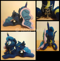 Patchwork Ponies - Princess Luna *FOR SALE* by Miss-Twila