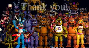 Scott's thank you to the fnaf fans and supporters by sonic-speedsune-202
