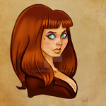 Betty From Work by WarBrown