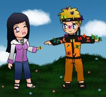 NaruHina: Butterflies by IcyPanther1