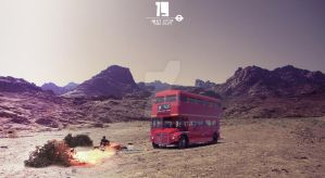 Lost Bus In a Desert by Tommy92c