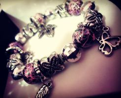 Hand made Bracelet.. by DimaCupidAngel