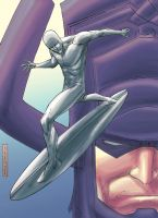 Silver Surfer by johnnymorbius