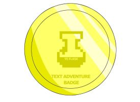 Text Adventure Badge by RyuPointGame
