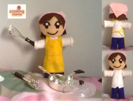 Cooking Mama Plush by collarander