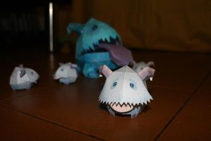 Papercraft Poros by Caurde