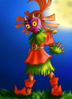 Skull Kid by Twentyfivegirl