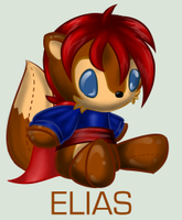 Sonic Plushie Collection:Elias by Omnicenos