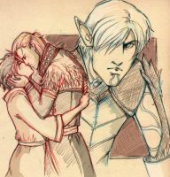 Dragon Age Triangle by emmav