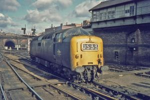 Deltic manoeuvring - 2 by Brit31