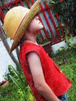 Straw Hat on Rain... by CosplayDaigumi