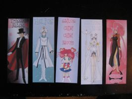 Sailor Moon book mark mix pack 4 by Anthro7
