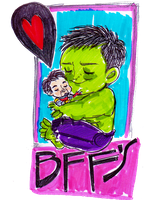 HULK HUGS by rompopita