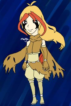 Pidgeot gijinka CLOSED by mangadoptables