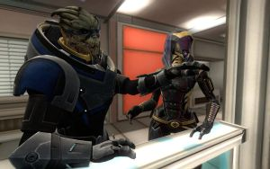 Garrus and Tali by Kadian412