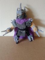 The Shredder by fuzzyfigureguy