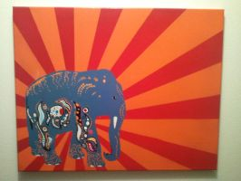 Elephant by neversummer160