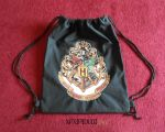 Mochila Harry Potter Escudo Hogwarts by Xaxipidudi