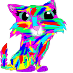 rainbow cat by Ask-ShadeRaven