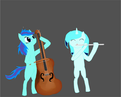 Orchestral Ponies by Nightstripes0987