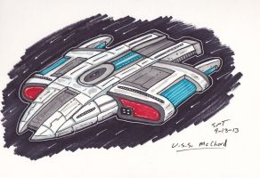 U.S.S. McChord Concept by stourangeau