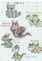 HTTYD : Baby Dragons by lWideShotl