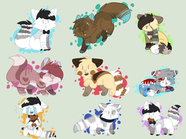 YCH Chibis by swaeters