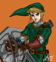 Link - Zelda:Twilight Princess by bratchny