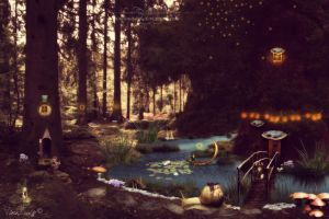 Enchanted Forest by TinaLouiseUk