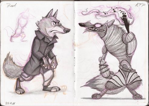 Wolves by nik159