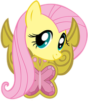 Fluttershy emblem by Fragin