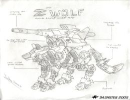Zeon Wolf by Dashster