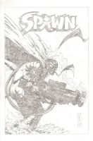 COMMISSION - Spawn - Pencils by The-Real-NComics
