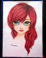 Scarlet, The Rainbow Eyes by XenNa-Scarlet