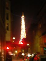 Eiffel At Night I by Stienf9
