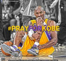 Pray For Kobe by lisong24kobe