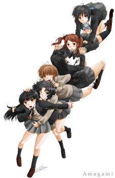 6 Heroines' Amagami by Sinzire