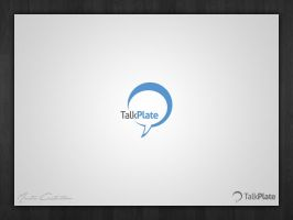 TalkPlate - Logo by TheDrake92