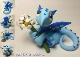 Make A Wish Dragon by lizzarddesigns