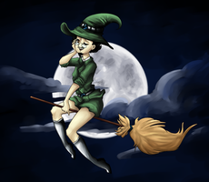 Witch. by taveiver201