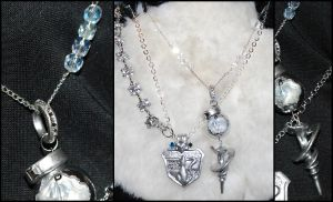 Snow Villers's NORA and Engagement Necklace by Vogelkop