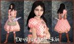 A:MR Skin - Devilish Doll by EvanescentAngel666