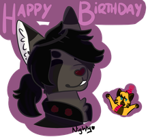 Hap Birth Boo by NightyxX
