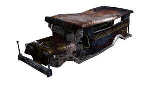 Ruined Jeepney by conquerorsaint