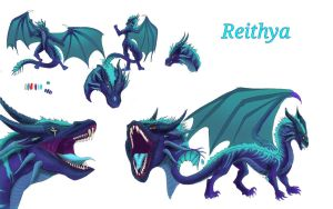Reithya Reference Sheet 2017 by Reithya