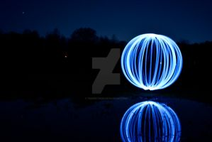 Blue Light Orb by tbapertures