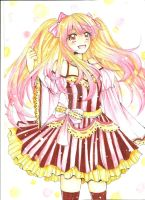 yellow and pink~ by Syahlalala
